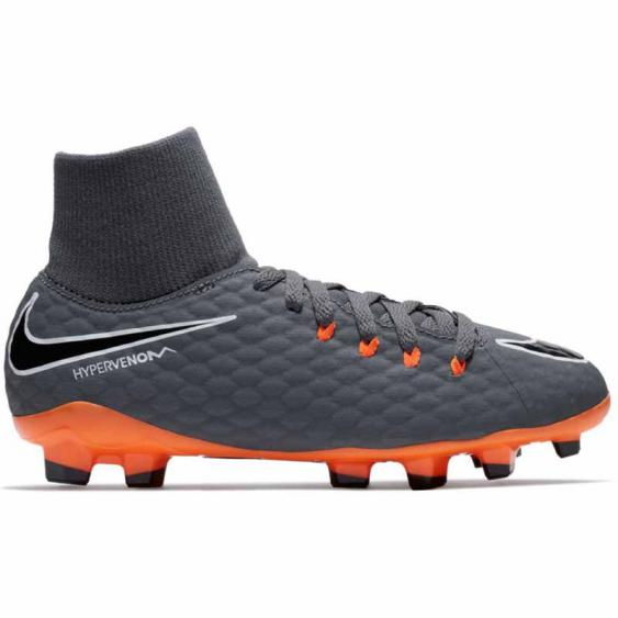 Nike Hypervenom Phantom 3 Grey / Orange AH7287-081 (Youth)