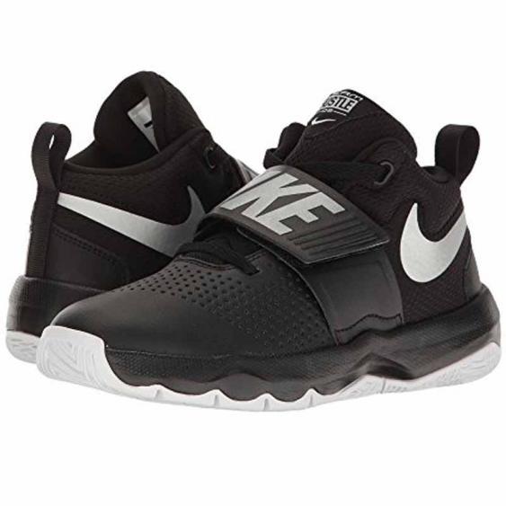 Nike Team Hustle D 8 Black / Silver 881941-001 (Youth)
