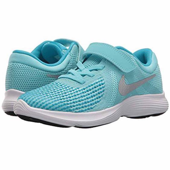 Nike Revolution 4 Aqua / Silver 943307-400 (Kids)