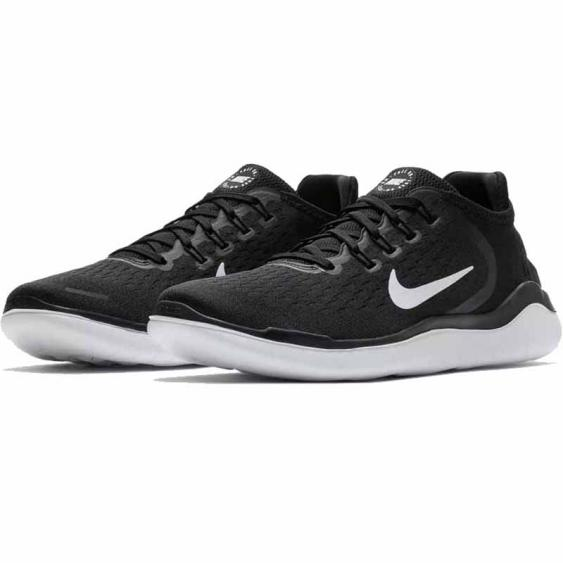Nike Free RN 2018 Black / White 942836-001 (Men's)