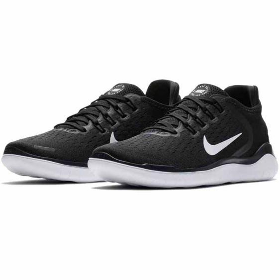 Nike Free RN 2018 Black / White 942837-001 (Women's)