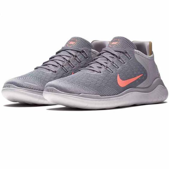Nike Free RN 2018 Gunsmoke / Crimson 942837-005 (Women's)