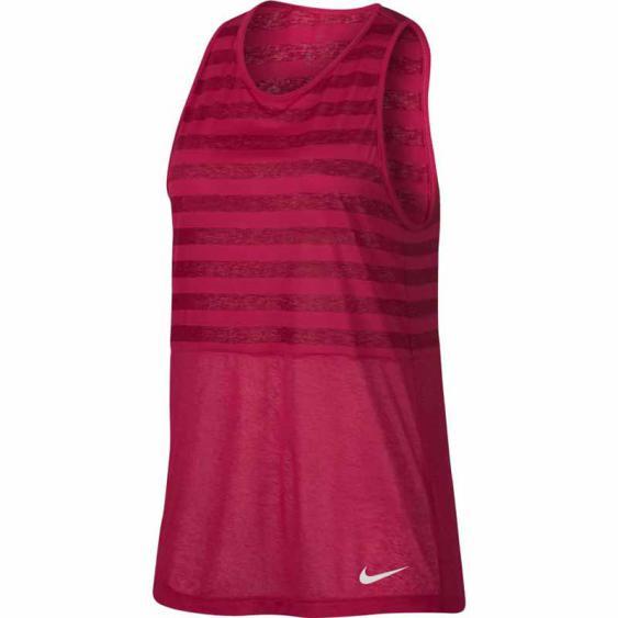 Nike Breathe Stripe Tank White Cherry 889162-622 (Women's)