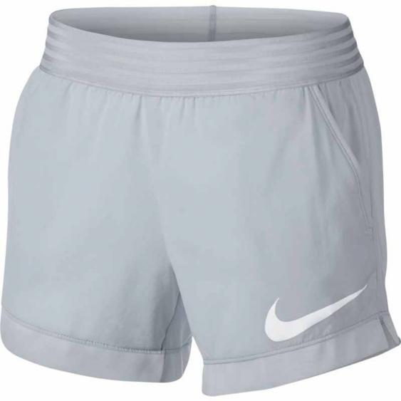 Nike Flex Short 4'' Platinum / White 891974-043 (Women's)