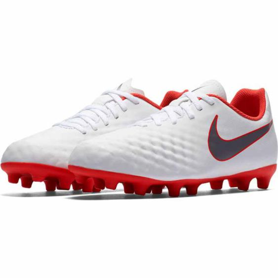 Nike Magista Obra 2 Club JR White / Crimson AH7314-107 (Youth)