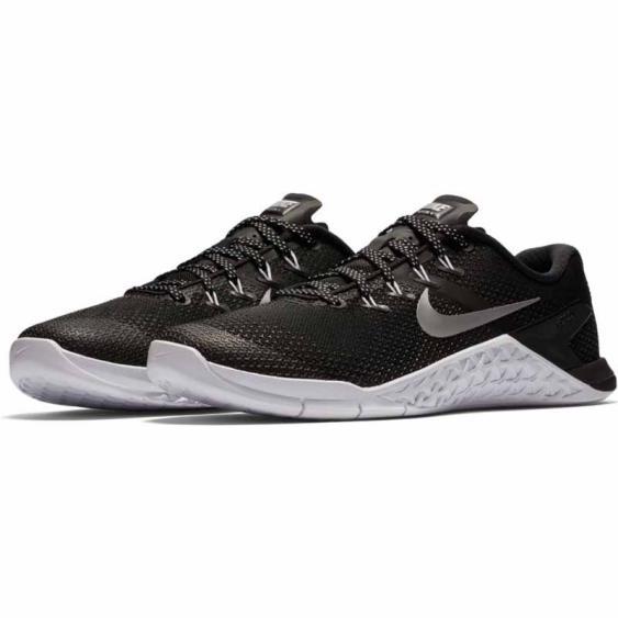 Nike Metcon 4 Black / Silver / Volt 924593-001 (Women's)