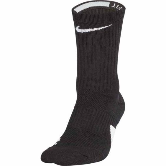 Nike Elite Basketball Crew Black / White SX7622-013