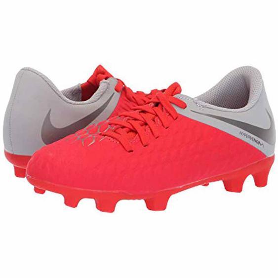 Nike Hypervenom 3 Club Crimson / Grey AJ4146-600 (Youth)