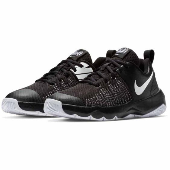 Nike Team Hustle Quick Black / White 922680-004 (Youth)