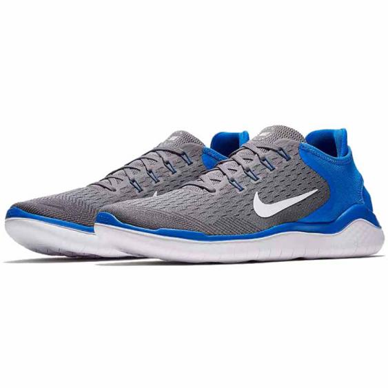 Nike Free RN 2018 Gunsmoke / Blue 942836-008 (Men's)
