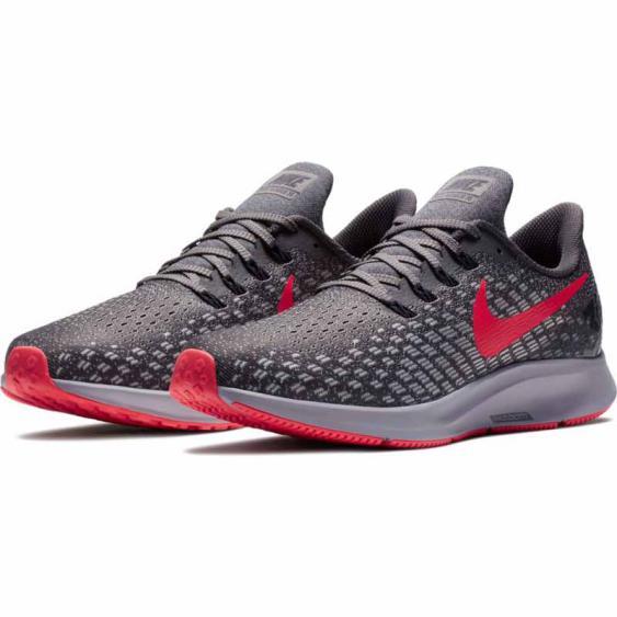 Nike Air Zoom Pegasus 35 Thunder Grey / Crimson 942851-006 (Men's)