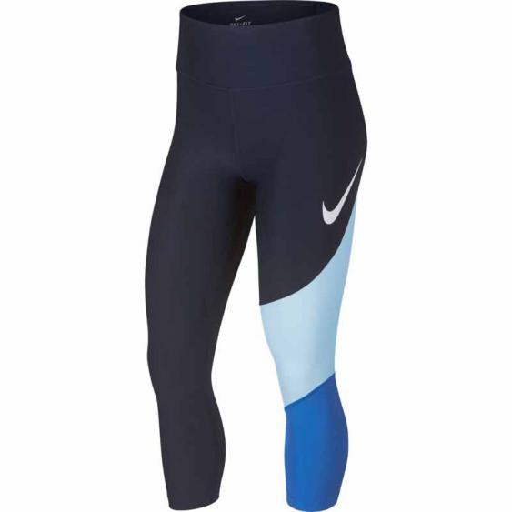 Nike Power HBR Crop FA Obsidian / Sig Blue 933789-451 (Women's)