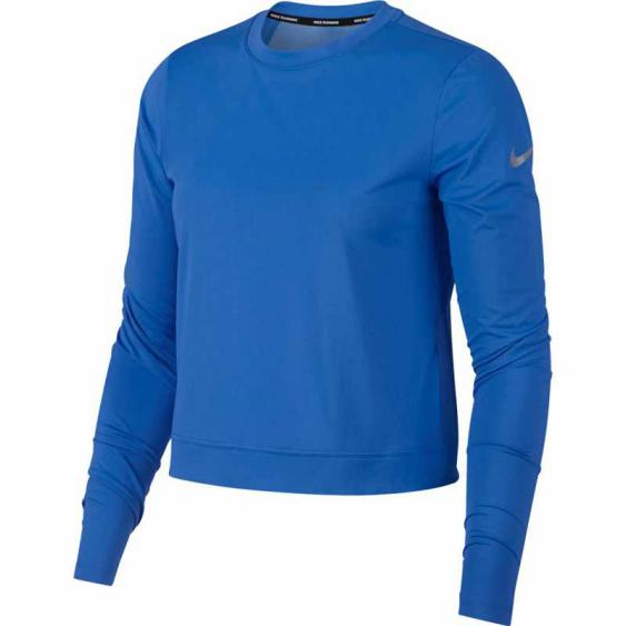 Nike Miler Crew LS Top Sig Blue AH0240-403 (Women's)