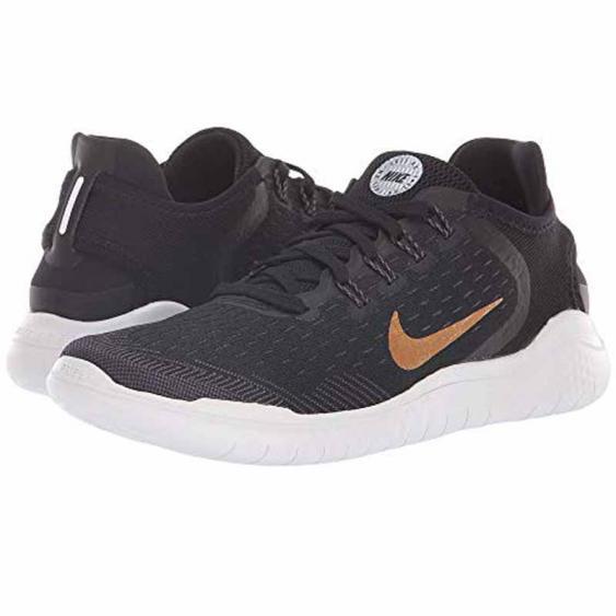 Nike Free RN 2018 Black / Metallic Gold 942837-008 (Women's)