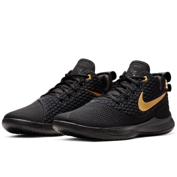 Nike LeBron Witness III Black/ Gold AO4433-003 (Men's)