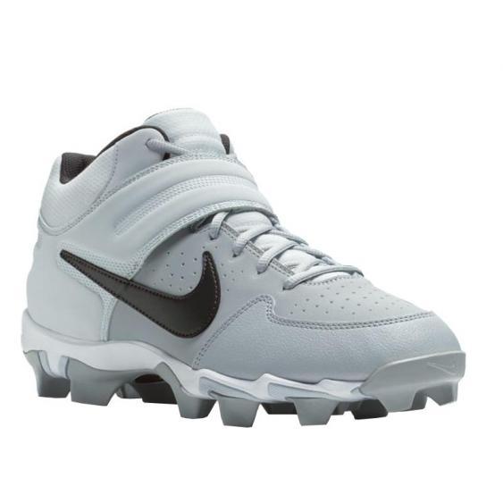 Nike Alpha Hurache Varsity  Mid Keystone Grey/ Black AO7956-002 (Men's)