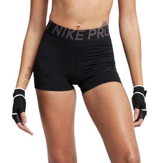 Nike Pro 3 inch Shorty Black/ Grey AO9977-014 (Women's)