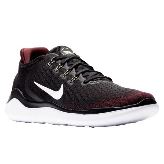 Nike Free RN 2018 Night Maroon/ Black/ Lime 942836-603 (Men's)