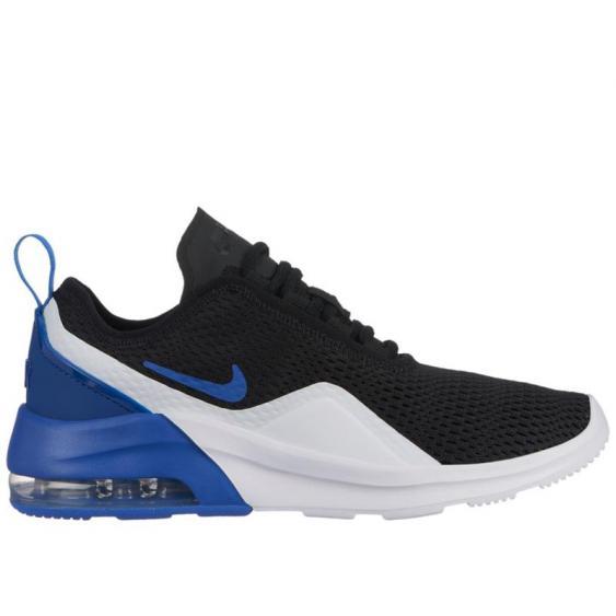 Nike Air Max Motion 2 Black/ Royal/ White AQ2741-003 (Youth)