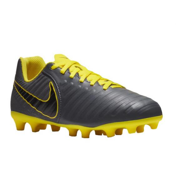 Nike JR Legend 7 Club MG Grey/ Yellow AO2300-070 (Youth)