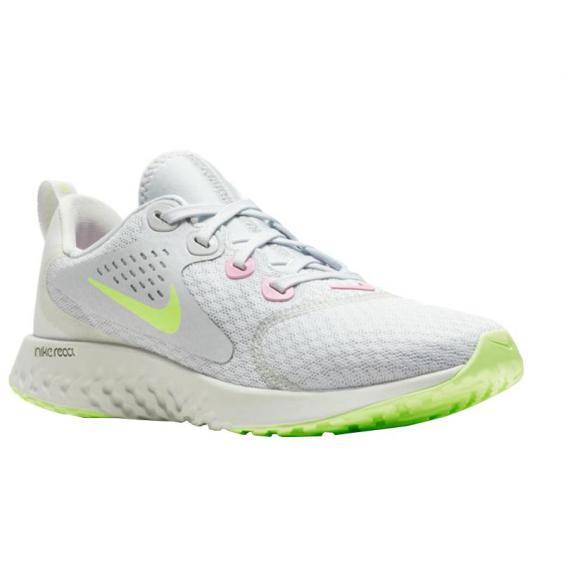 Nike Legend React Platinum/ Volt AH9437-002 (Youth)
