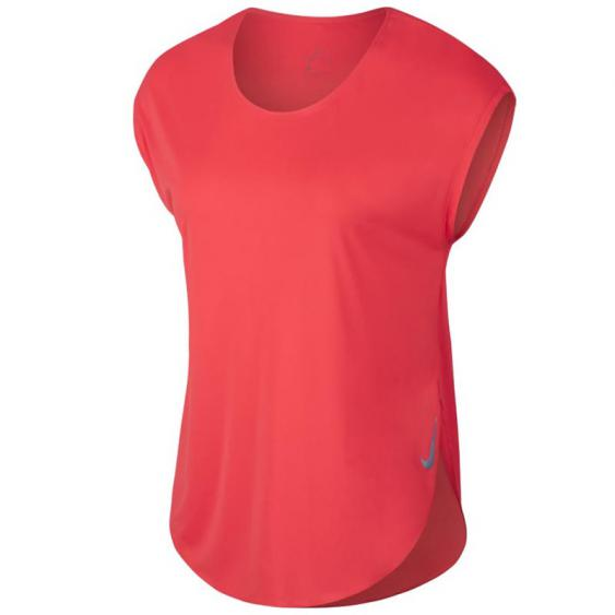 Nike City Sleek SS Top Ember Glow AT0821-850 (Women's)