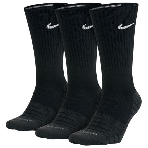 Nike Everyday Max Cushion Crew 3PK Black/ White SX5547-010 (Adult)