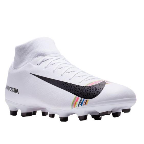 Nike CR7 Superfly 6 Academy MG White/ Black/ Platinum AJ3541-109 (Men's)