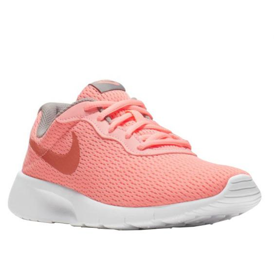 Nike Tanjun Pink Tint/ Metallic Rose 818384-607 (Youth)