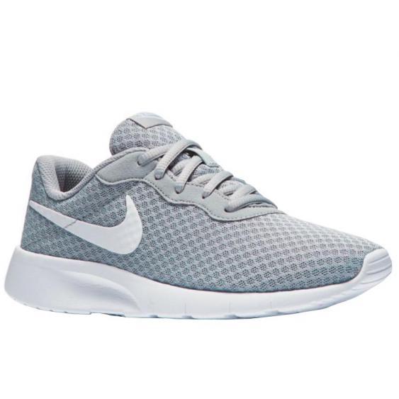 Nike Tanjun Wolf Grey/ White 818381-012 (Youth)