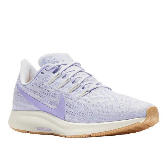 Nike Air Zoom Pegasus 36 Platinum Tint/ Purple Agate AQ2210-005 (Women's)