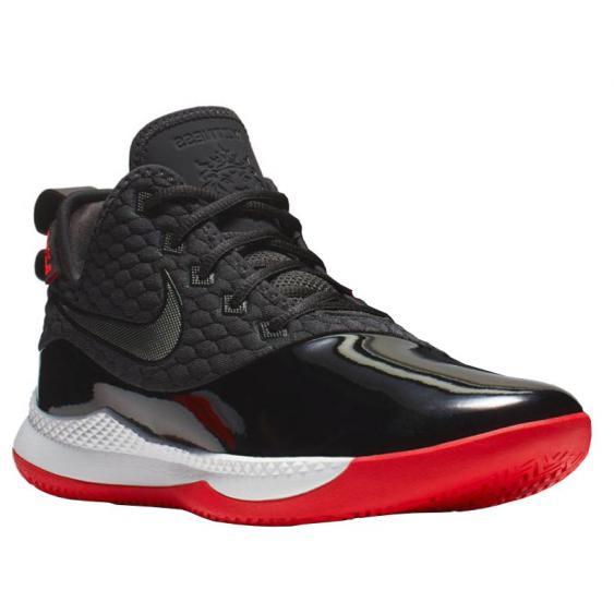 Nike Lebron Witness III PRM Black/ White/ Red BQ9819-001 (Men's)