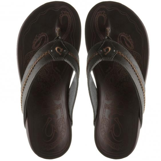 OluKai Mea Ola Charcoal / Dark Java 10138-2648 (Men's)