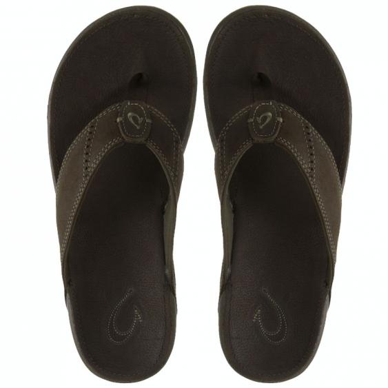 OluKai Nui Seal Brown 10239-7C7C (Men's)