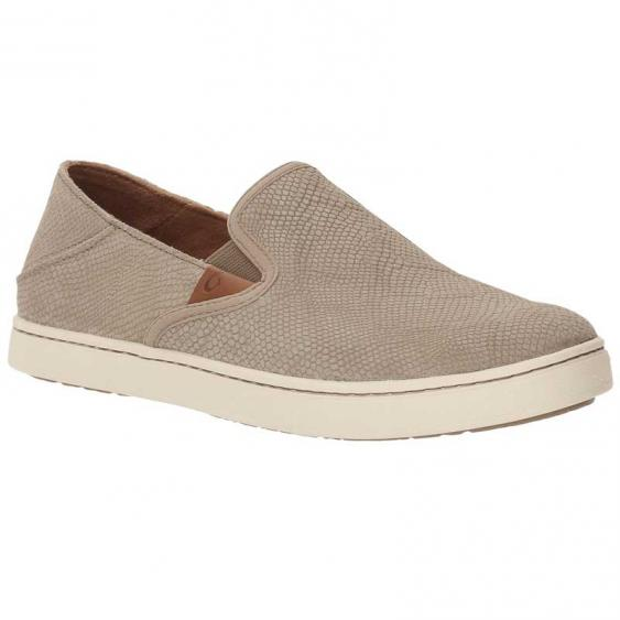 OluKai Pehuea Leather Clay Hona/ Clay 20329-LH10 (Women's)