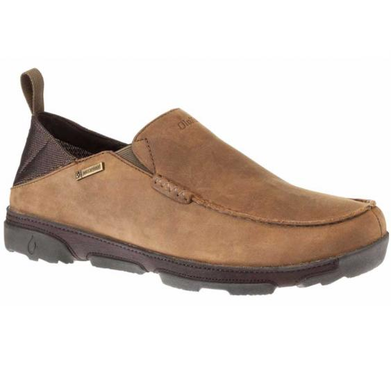 OluKai Na'I Waterproof Ray/ Dark Wood 10336-2763 (Men's)