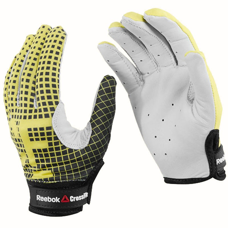 Reebok Crossfit Training Gloves: Reebok CrossFit Gloves Yellow S13890 (Women's