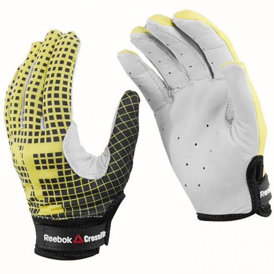 Reebok CrossFit Gloves Yellow S13890 (Women's)