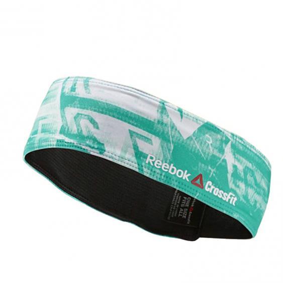 Reebok CrossFit Graphic Headband Timeless Teal Z95028