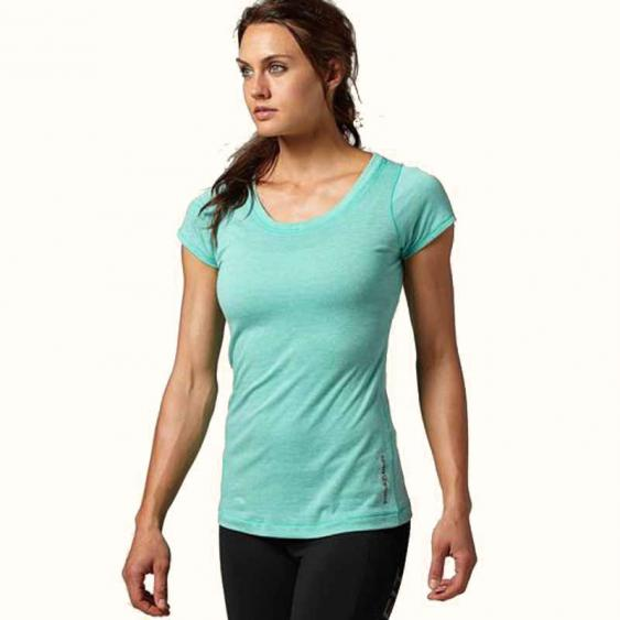Reebok CrossFit SS Solid TriBlend Timeless Teal Z92826 (Women's)