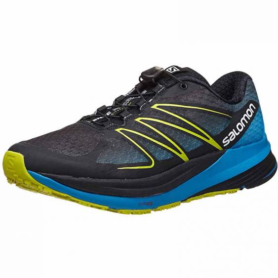 Salomon Sense Propulse Black / Gecko Blue L37640200 (Men's)