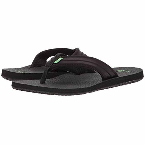 Sanuk Land Shark Black 1019852 (Men's)