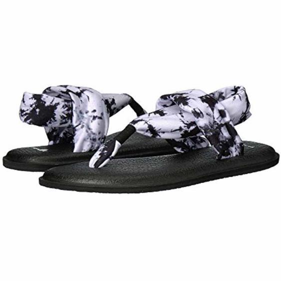 Sanuk Yoga Sling 2 Prints Black Tie Dye 1017882-BTDY (Women's)