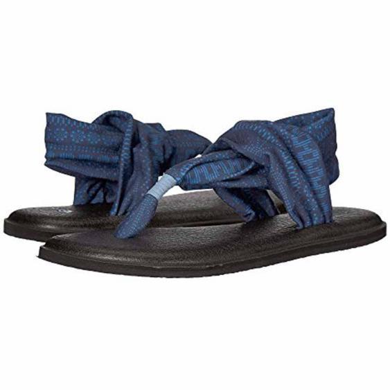 Sanuk Yoga Sling 2 Prints Blue Heaven Shibori Stripes 1091795-BHSST (Women's)