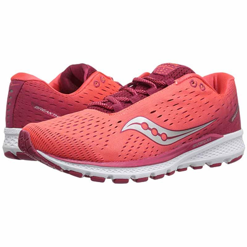 Saucony Breakthru 3 Berry Coral S10358 4 (Women's)