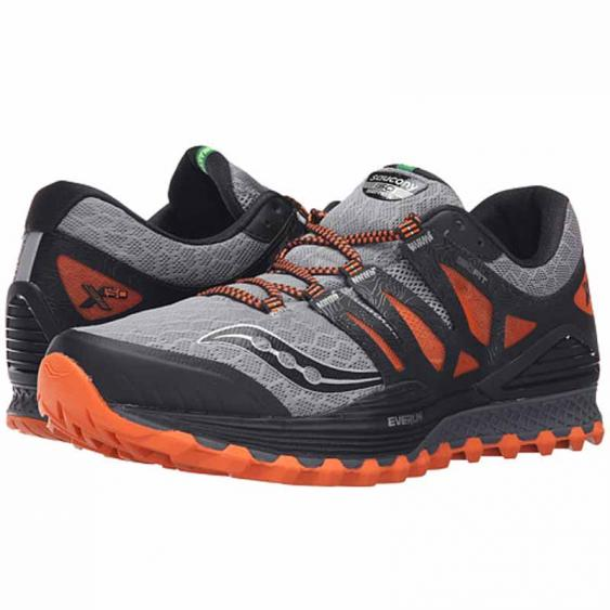 Saucony Xodus ISO Grey / Orange S20325-1 (Men's)