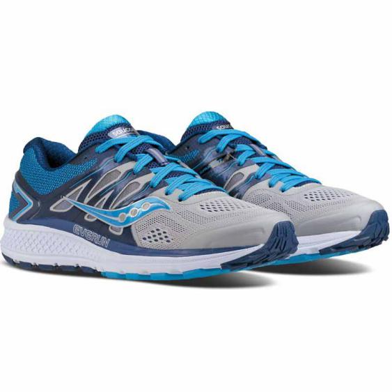 Saucony Omni 16 Grey / Blue S10370-1 (Women's)