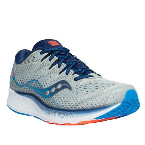 Saucony Ride ISO 2 Grey/ Blue S20514-1 (Men's)