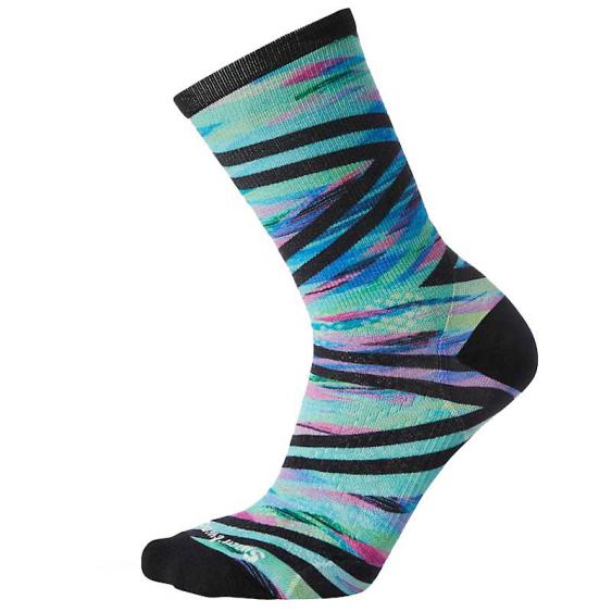 Smartwool PhD Run Ultra Light Print Crew Capri SW001164-810