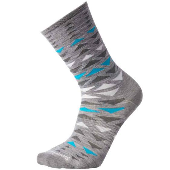 Smartwool Burgee Crew Socks Light Grey SW003904-039
